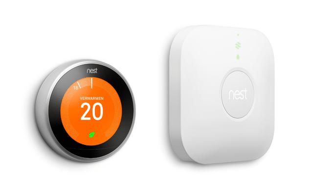 Nest Thermostat en Heatlink