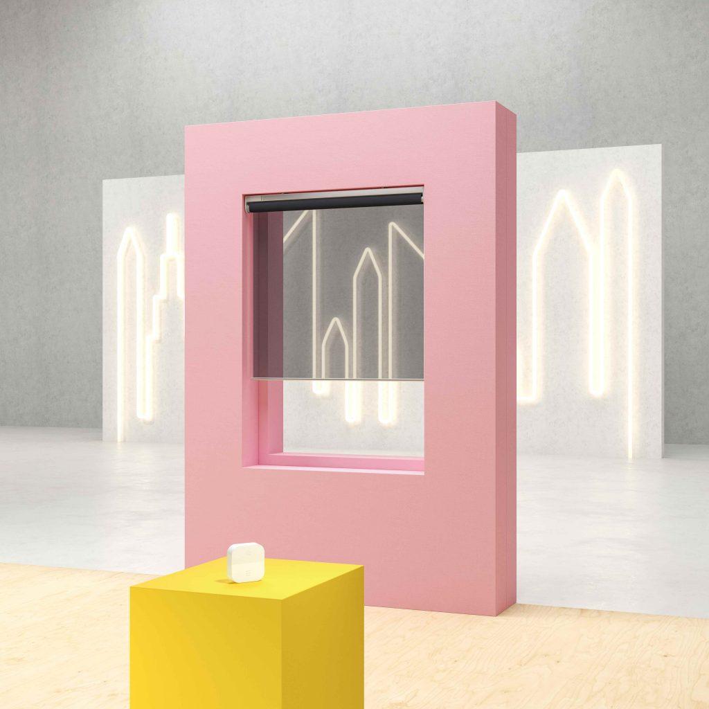 Ikea Kadrilj slimme lichtdoorlatende rolgordijnen