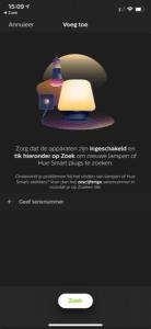 Philips Hue app: Zoeken naar en toevoegen van nieuwe lampen
